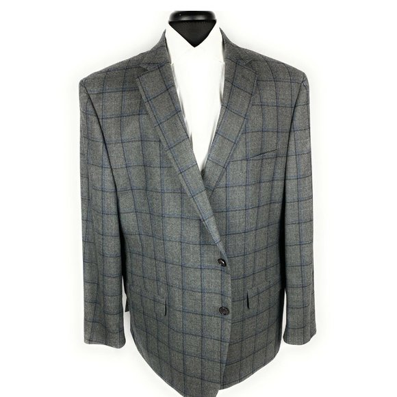 Lauren Ralph Lauren Mens Blazer Jacket Checker